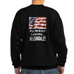 Try Burnin' Sweatshirt (dark)