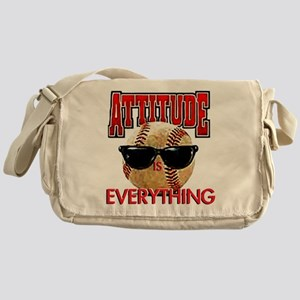 Attitude is Everything Messenger Bag