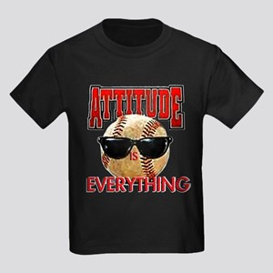 Attitude is Everything Kids Dark T-Shirt