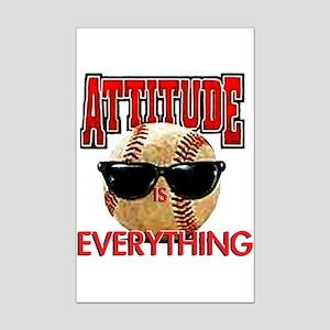 Attitude is Everything Mini Poster Print