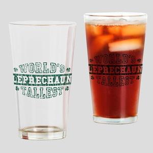 Tallest Leprechaun 2 Drinking Glass