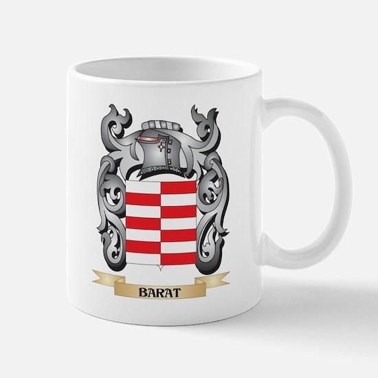 Barat Family Crest - Barat Coat of Arms Mugs