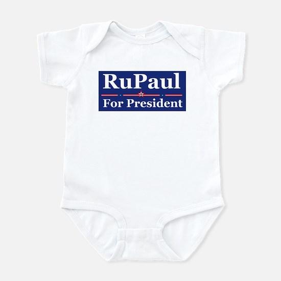 RuPaul for President baby onesie