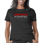 desperatescrapper_trans_wh Women's Classic T-Shirt