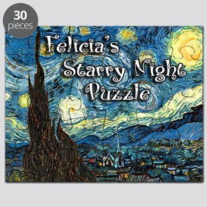 Felicia's Starry Night Puzzle