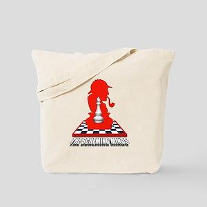 White Bishop Tote Bag