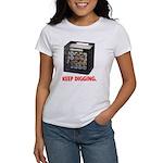 Keep Digging - Vinyl Women's T-Shirt