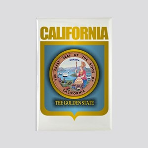 """California Gold"" Rectangle Magnet"