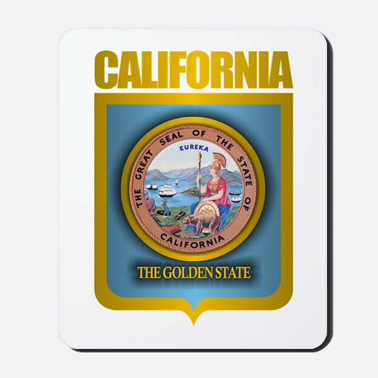 """California Gold"" Mousepad"