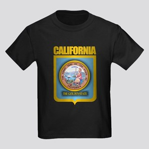 """California Gold"" Kids Dark T-Shirt"