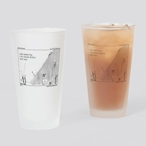 Manual review, haystack Drinking Glass