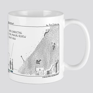 Manual review, haystack Mug