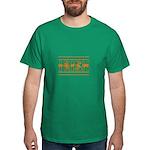 Kiss Me I'm Irish Dark T-Shirt
