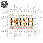 Kiss Me I'm Irish Puzzle