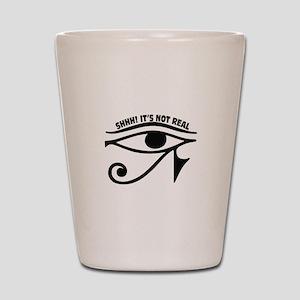 Shhh! Eye Shot Glass