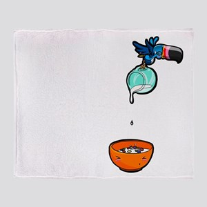 Who Can? TouCAN! Throw Blanket