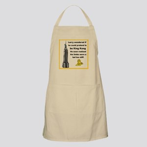Larry and King Kong Apron