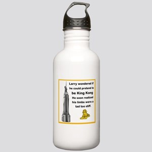 Larry and King Kong Stainless Water Bottle 1.0L