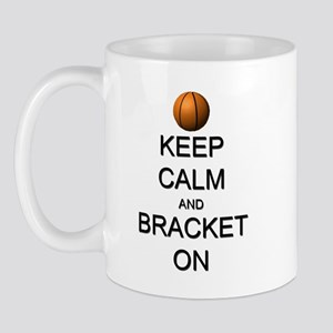 Keep Calm and Basketball Mug