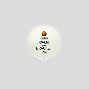 Keep Calm and Basketball Mini Button (10 pack)