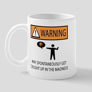 Warning Basketball Madness Mug