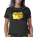 stuph_file_logo Women's Classic T-Shirt