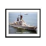 USS HARRY E. YARNELL Framed Panel Print