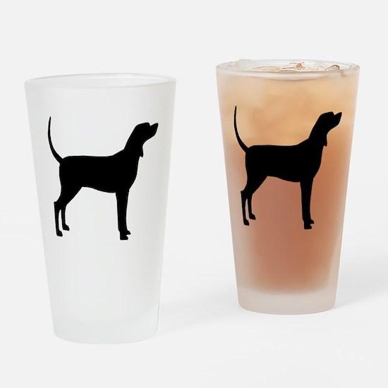 Coonhound Dog (#2) Drinking Glass