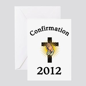 Confirmation 2012 Greeting Card