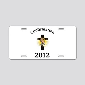 Confirmation 2012 Aluminum License Plate