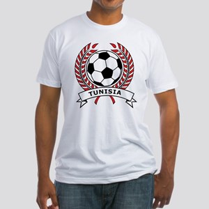 Soccer Tunisia Fitted T-Shirt
