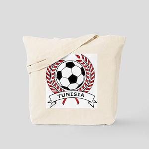 Soccer Tunisia Tote Bag
