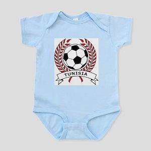 Soccer Tunisia Infant Creeper