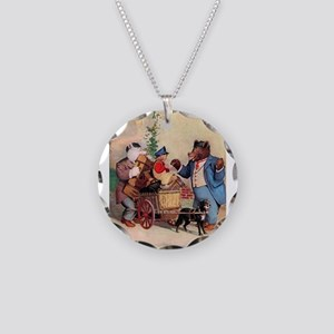 Roosevelt Bears and the Little Dutch Boy Necklace