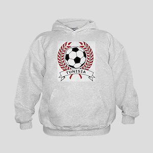 Soccer Tunisia Kids Hoodie