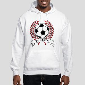Soccer Tunisia Hooded Sweatshirt
