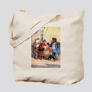 Roosevelt Bears and the Little Dutch Boy Tote Bag