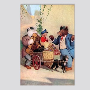Roosevelt Bears and the Little Dutch Boy Postcards