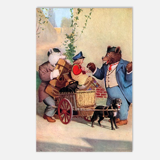 Roosevelt Bears and the Little Dutch Boy Postcards