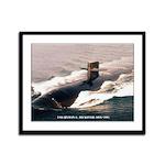 USS HYMAN G. RICKOVER Framed Panel Print