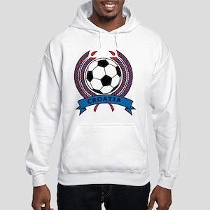 Soccer Croatia Hooded Sweatshirt