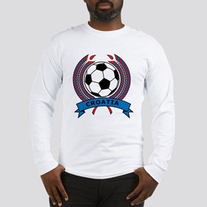 Soccer Croatia Long Sleeve T-Shirt
