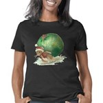 Mouse with Christmas Ornam Women's Classic T-Shirt