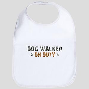 Dog Walker On Duty Bib