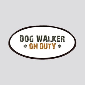 Dog Walker On Duty Patches