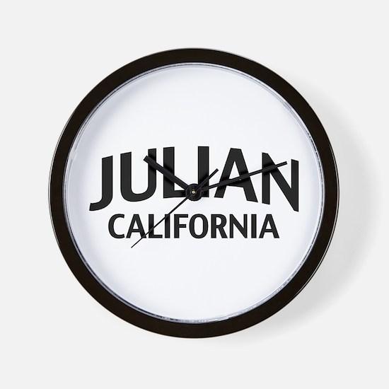 Julian California Wall Clock