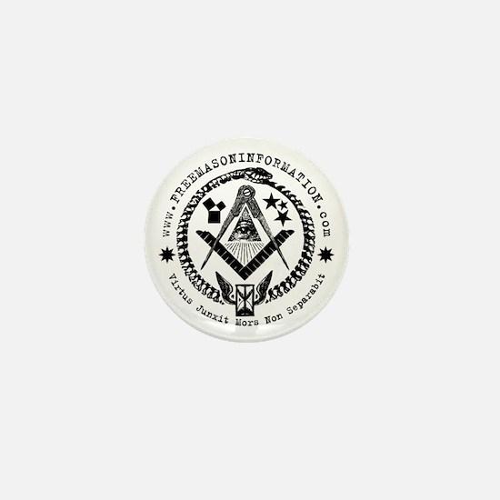 Freemason Information Mini Button (10 pack).