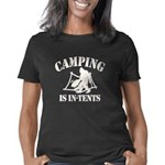 Camping Is In Tents Women's Classic T-Shirt