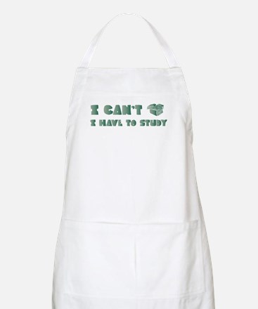 Have to Study BBQ Apron