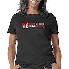 ANIMALLIBcafepressDARK Women's Classic T-Shirt